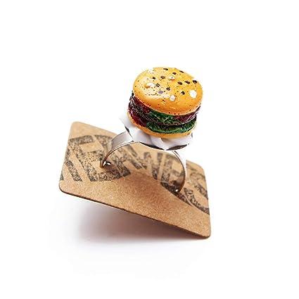 Burger Anillo plata - ajustable Tamaño - Parrilla Asar ...