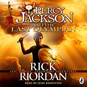 Percy Jackson and the Last Olympian Audiobook | Rick Riordan ...