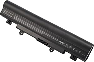 AC Doctor INC Laptop Battery AL14A32 for Acer Aspire E1-571 E5-571 E5-411 E5-421 E5-511 E5-521 V3-472 V3-572 E14 E15 Touch Extensa 2509 2510 Travelmate P246 TMP246 Series, 4400mAh/11.1V/6-Cells