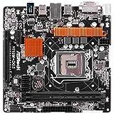 Asrock H110M-DGS Intel H110 LGA1151 Micro ATX motherboard Intel H110 LGA1151 Micro ATX - motherboards (DIMM, DDR4-SDRAM, Dual, Intel, Celeron, Core i3, Core i5, Core i7, Pentium, LGA1151)