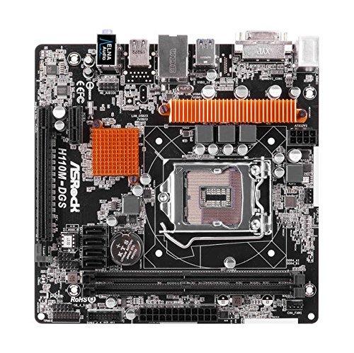 ASRock H110M-DGS Micro ATX LGA1151 Motherboard