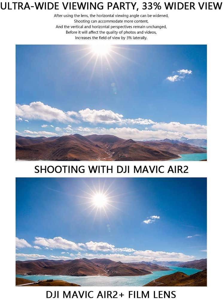 Anamorphe Linse 1 33x Für Dji Mavic Air 2 Für Moment Kamera