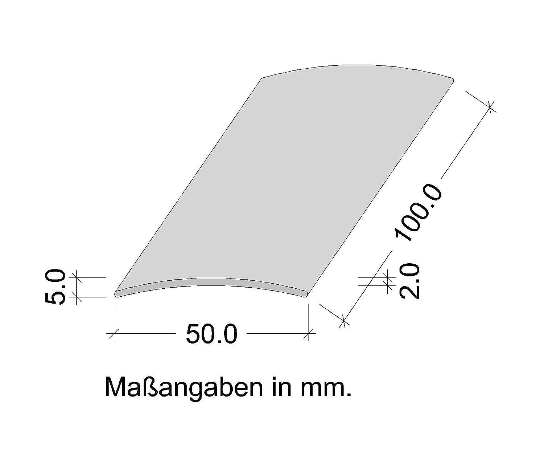 Perfil de grueso GedoTec a trav/és de agujeros aluminio anodizado a trav/és de velocidades de riel de perfil del suelo De ancho de 30-40 Made in Germany 40 x 1000 mm 50 mm Alu bronze eloxiert 100 cm o de 200 cm 3 coloures