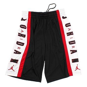 promo code 73c45 929b7 Nike Jordan Rise 3 Short, Men, 924566-010, Black Gym Red