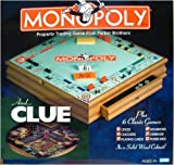 Parker Brother Hasbro Wooden Board Games Monopoly Clue Plus 6 Other Board Games & Amazon.com: Twin Play Classics Monopoly Scrabble Wooden Box: Toys ... Aboutintivar.Com