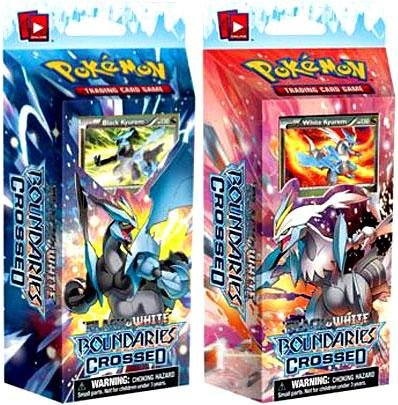 Pokemon Cards - BW Boundaries Crossed - Theme Decks - Set of 2 (Cold Fire & Ice Shock)