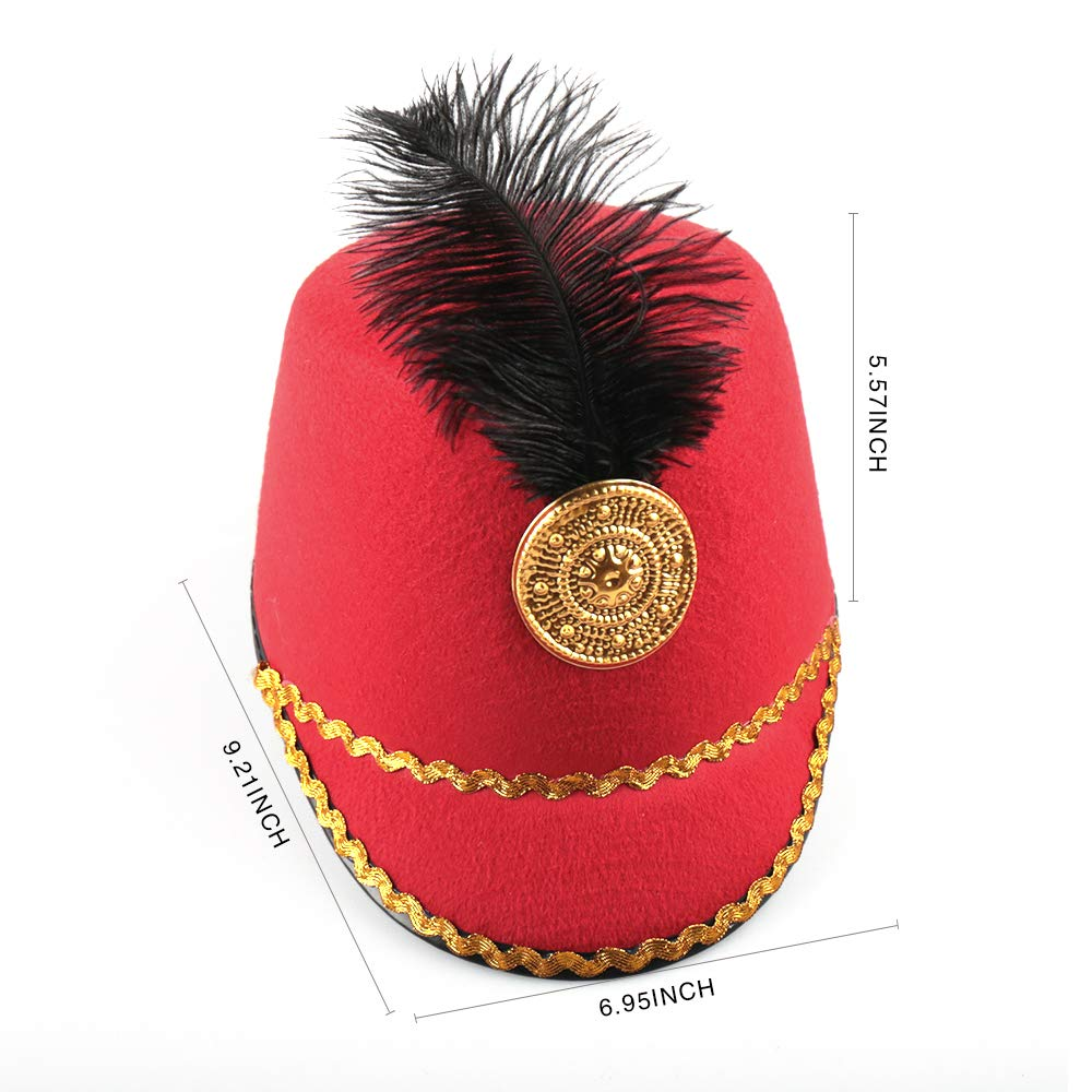 20e3284cb7d Crazy night marching band hat nutcracker hat soldier hat drum major hat toy  soldier hat toys