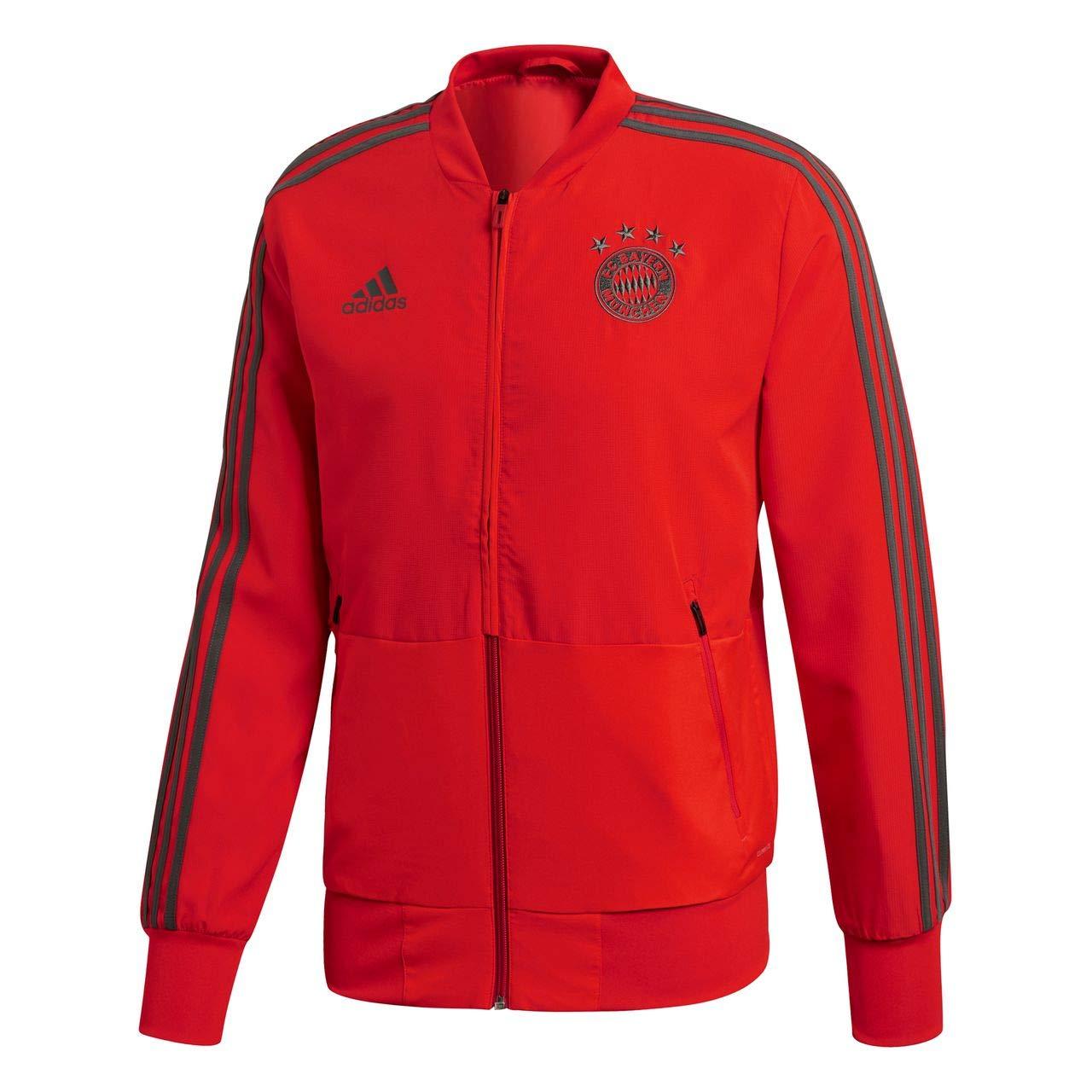 Adidas Herren 18 19 FC Bayern Presentation Jacket Präsentationsjacke