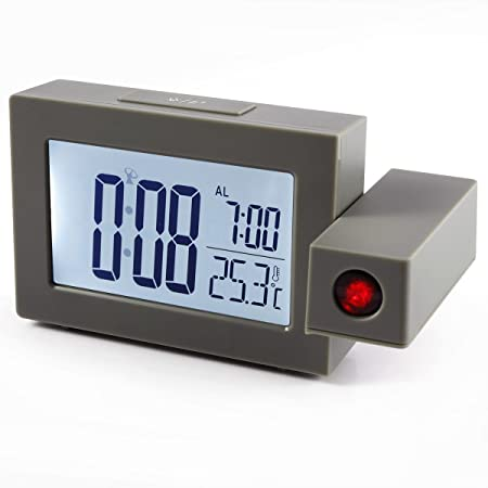 Despertador de proyección techo reloj proyector de hora ...