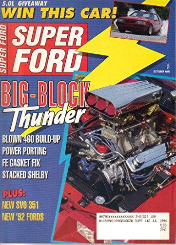 Super Ford Magazine, October 1991 (Vol. 16, No. ()