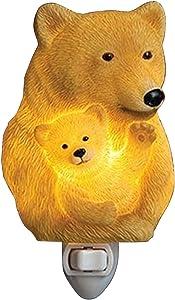 Ibis & Orchid Bear & Cub Night Light #50190