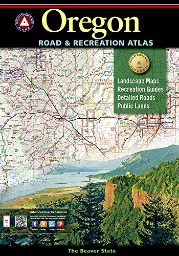 Oregon Benchmark Road & Recreation Atlas cover