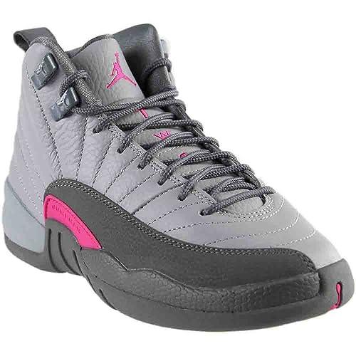online store ce8d2 b54c7 Amazon.com   AIR Jordan 12 Retro GG (GS) - 510815-029   Basketball