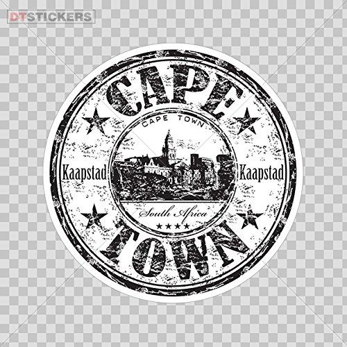 Decal Stickers Cape Town Africa Memorabilia Travel Souvenir Motorbike Boat D217 Rwa95