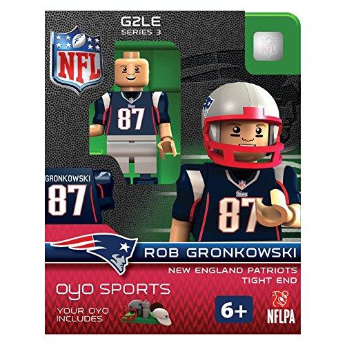 NFL New England Patriots Rob Gronkowski Gen 2 Mini Figure, Petit