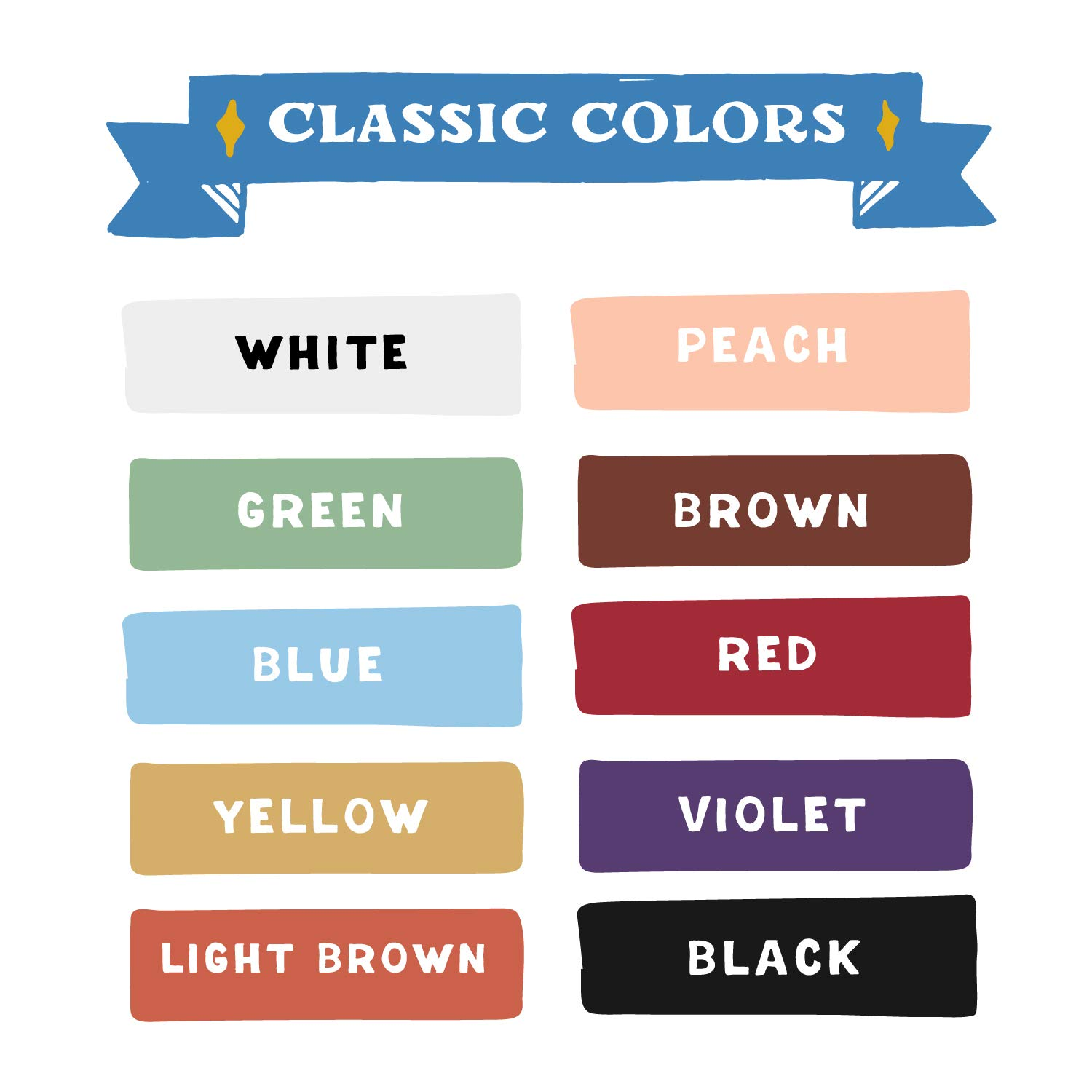 Chalkboard Chalk Markers by VersaChalk - Classic Colors (10-Pack)   Dust Free, Water-Based, Non-Toxic   Wet Erase Chalk Ink Pens by VersaChalk (Image #3)