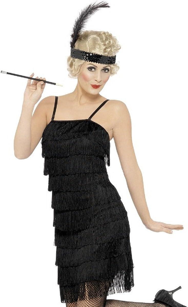 Disfraz Carnaval Mujer Charleston años 20 vestido de baile Jazz ...
