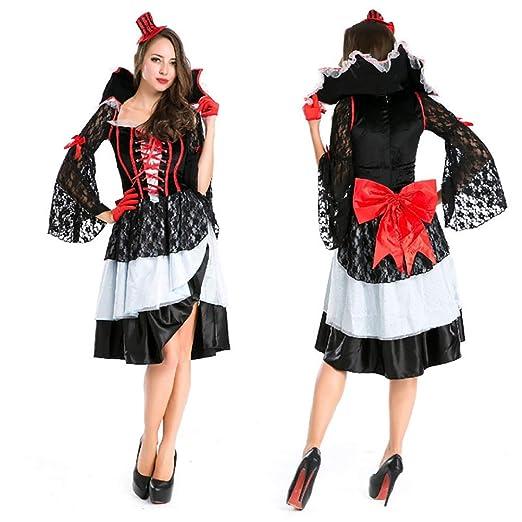 YRE Carnaval de Lujo Reina Traje, Vestido de Pirata, Europeo ...