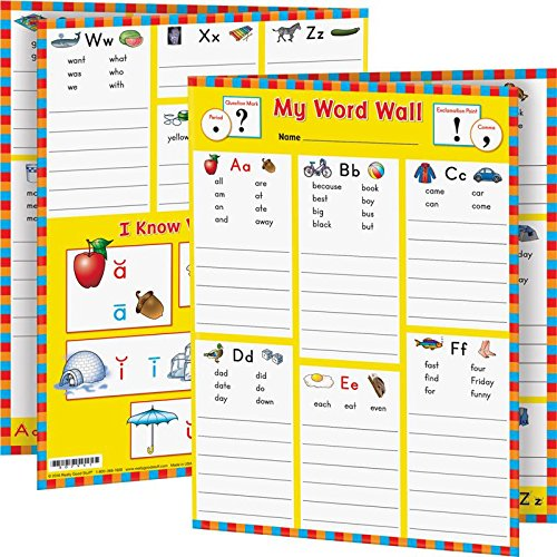 Really Good Stuff My Word Wall Folders: Kindergarten