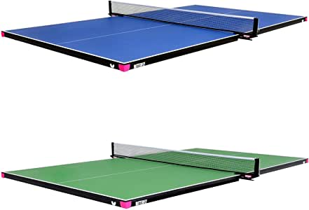 Butterfly Ping Pong Table for Billiard Table | Conversion Table Tennis Game Table | Table Tennis Table w/ Warranty | Conversion Top for Pool Table Games | Quality Pool Table Topper Game Tables