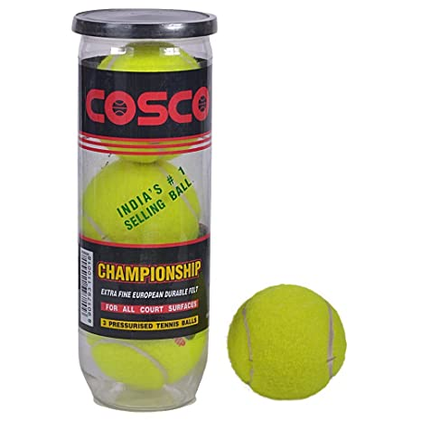 8143965b6d234 Buy Cosco Championship Tennis Ball Online at Low Prices in India - Amazon.in
