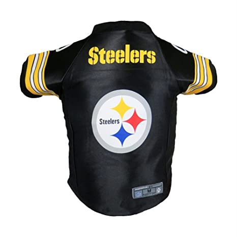 0c5642348 Image Unavailable. Image not available for. Color  Pittsburgh Steelers Pet  Premium Jersey ...