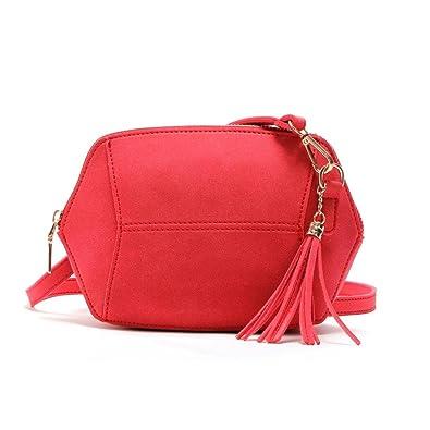 Large Éventail De Nicekicks Bon Marché HCFKJ Womens Leather Shoulder Bag Besace Sac à Main Fourre-Tout BandoulièRe Sacs (Orange) gYm5VTO