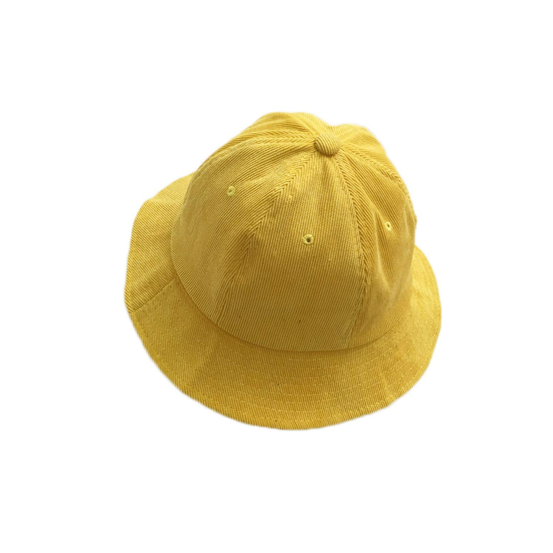 Fashion Dome Top Bucket HAT for Women Spring Caps Solid Corduroy Buckets Men Autumn HAT Sombreros Pescador