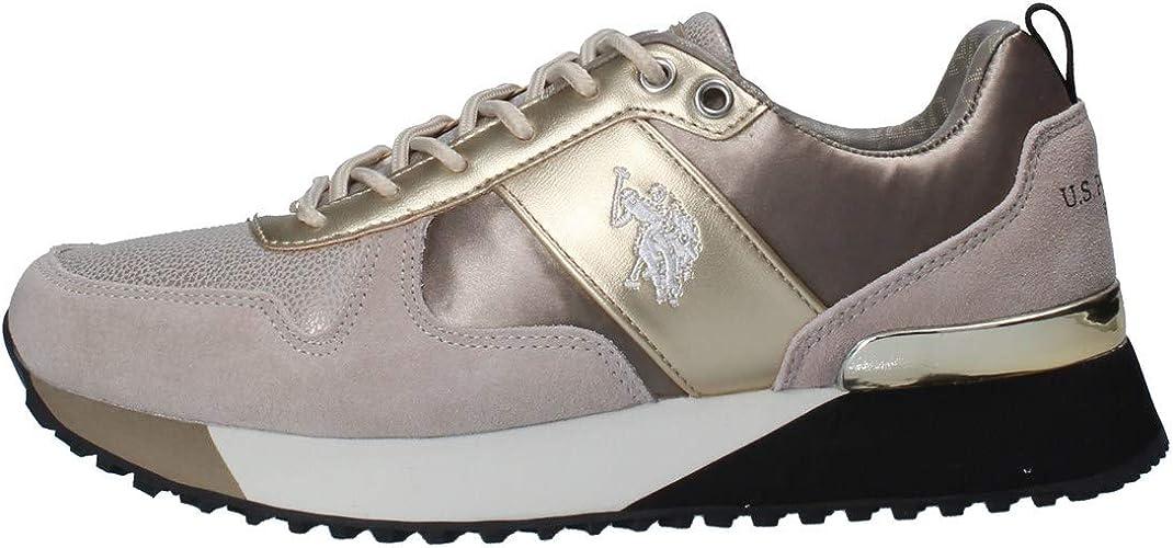 U.S. POLO ASSN. Tabitha3, Zapatillas de Gimnasia para Mujer ...