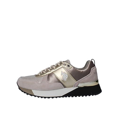 U.S.POLO ASSN. Tabitha3, Zapatillas de Gimnasia para Mujer: Amazon ...