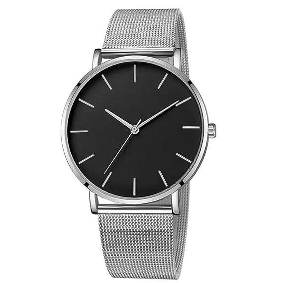 Clásicos de Acero Inoxidable Relojes de Lujo Reloj de Cuarzo ...