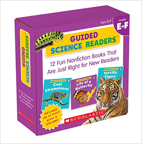 Guided Reading (Guided Science Readers Parent Pack: Levels E-F: 12 Fun Nonfiction Books That Are Just Right for New Readers)