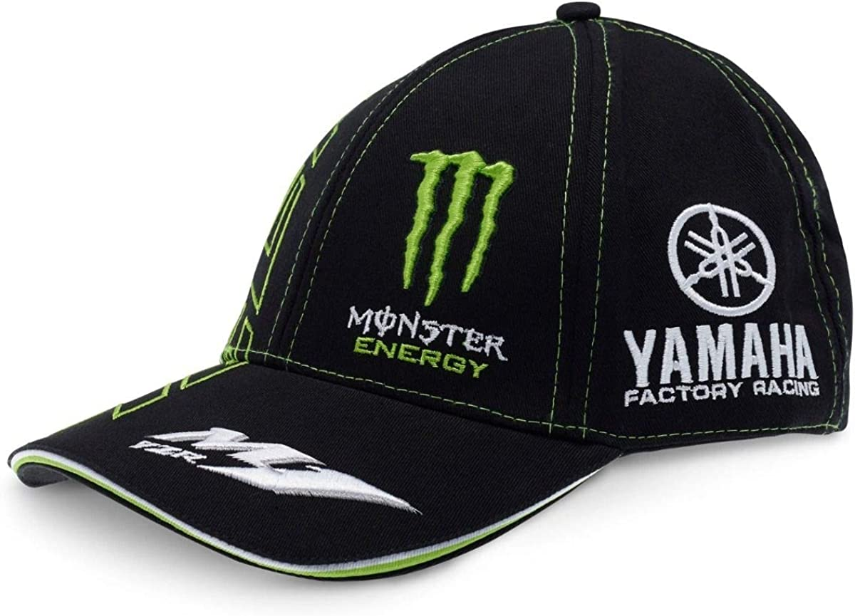 Monster Tech3 Monster – Gorra para Hombre, Negro/Verde, FR: Adulto ...