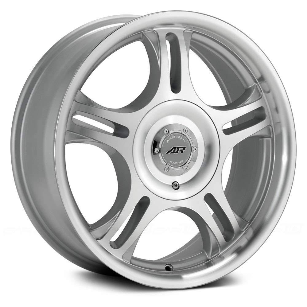 American Racing Estrella AR95 Machined Finish Wheel with Clear Coat (14x6'/4x100mm) AR954616