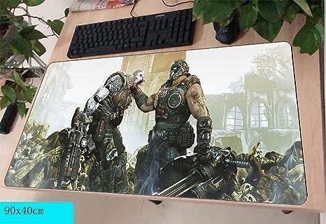 jasonding Alfombrilla De Ratón Gears of War Mousepad Gamer 90X40Cm ...