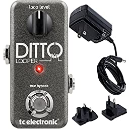 TC Electronics Ditto Looper Effects Pedal w/ Bonus Power Supply