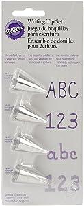 Wilton 418-4566 4-Piece Set, 0.8 x 2.2 x 6.8 Inches, silver