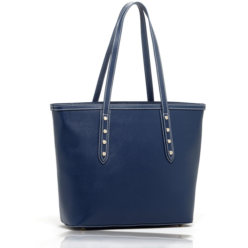 SUSU Shoulder Bag Saffiano Leather Tote Bags Designer Handbags Blue Designer Purses Designer Bags Leather Purses Tote bag
