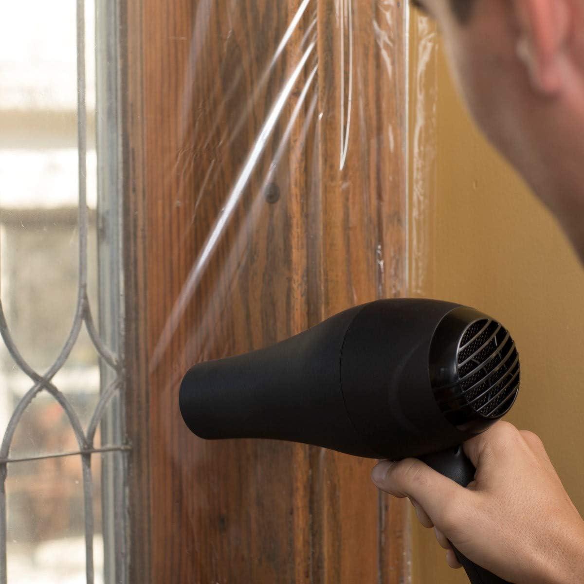 Duck 283571 Indoor Window Insulation Kit 62 x 420 Shrink Film Insulates Ten 3 x 5 Foot Windows