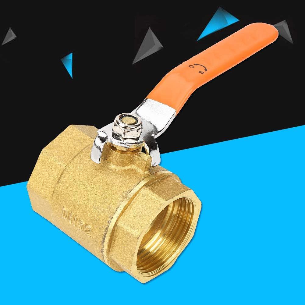 Water Valve Shut Off Ball Valve for Home FastUU Brass Ball Valve Shut-Off Valve