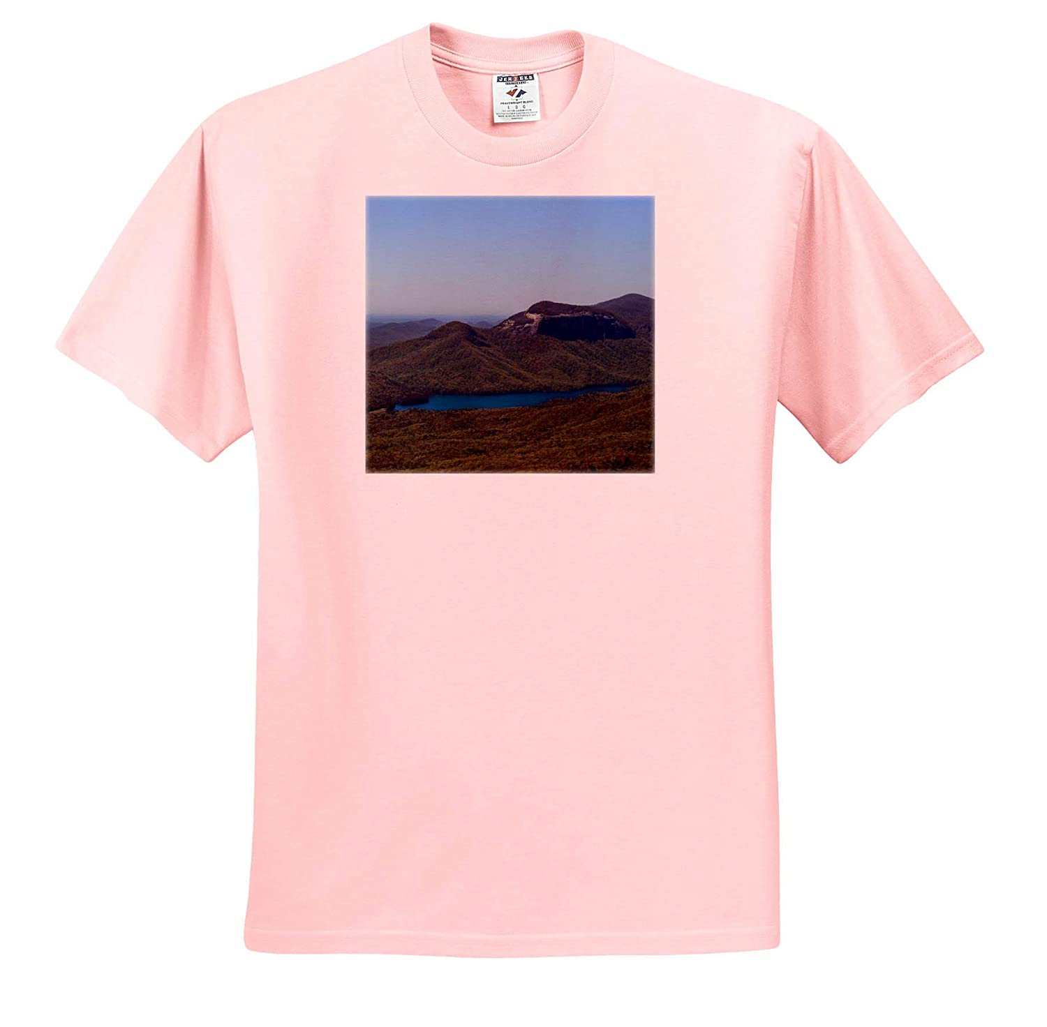 Photograph of Caesars Head State Park in Cleveland 3dRose Stamp City South Carolina - T-Shirts Landscape