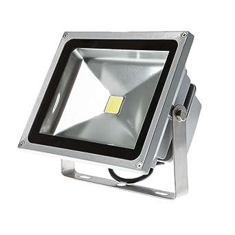 20W Luz Foco Proyector LED Blanco Frio Foco Exterior Foco de pared ...