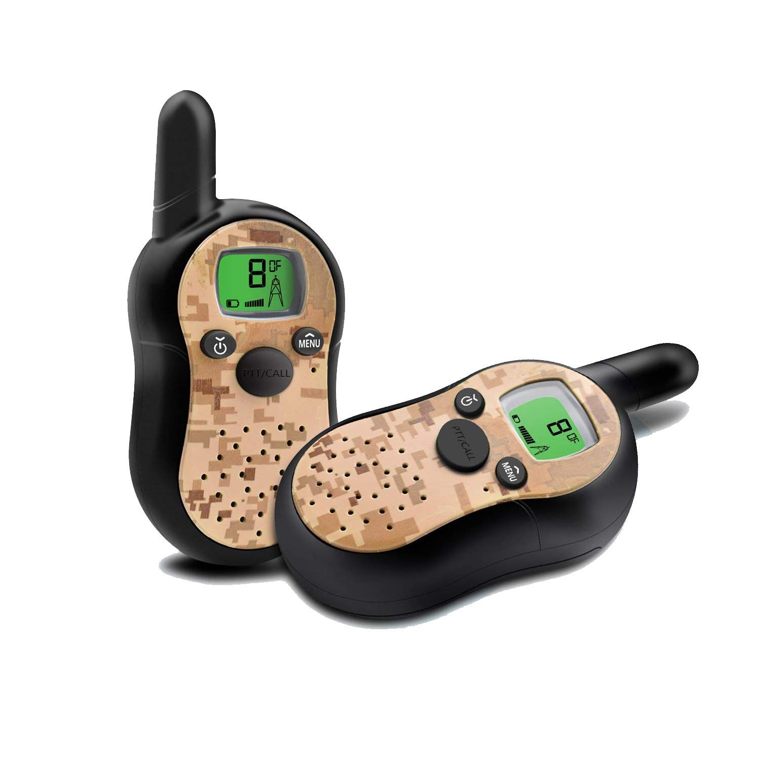 TiMi Tree Walkie Talkies for Kids, Top Toys for 3 4 5 6 Year Old Boys, Gifts for Kids Age 4 5 6 7 Voice Activated Long Range Volume Control, Camouflage by TiMi Tree (Image #7)