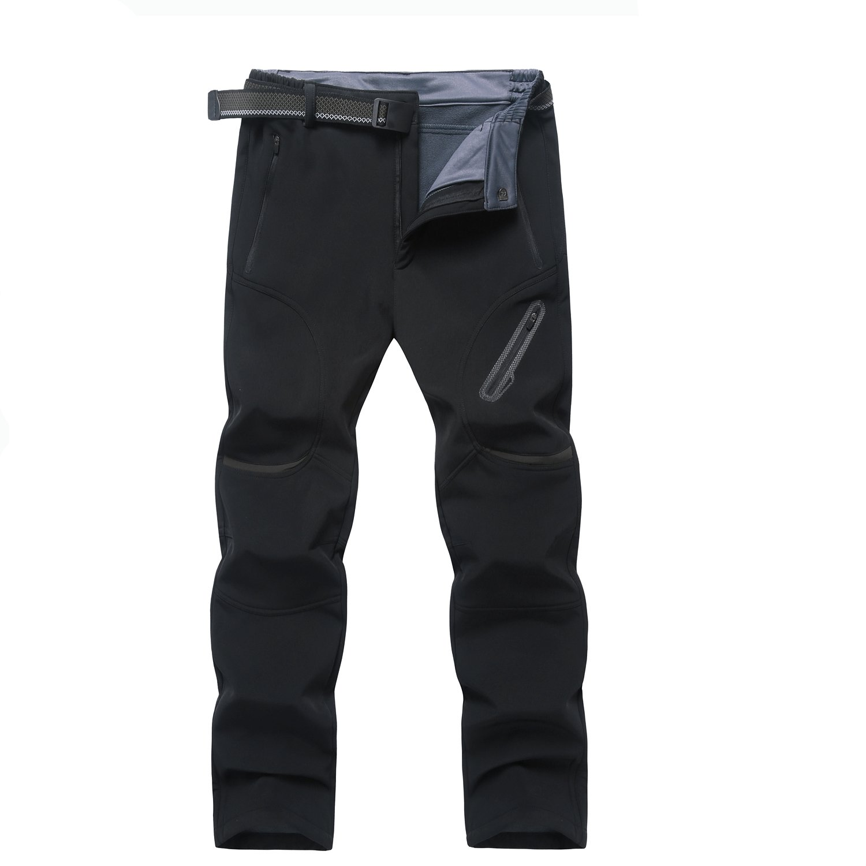 Ynport Crefreak Mens Winter Pantalones de Senderismo al Aire Libre Softshell Fleece Mountain Ski Snow Pants (con cinturón) ...: Amazon.es: Deportes y aire ...