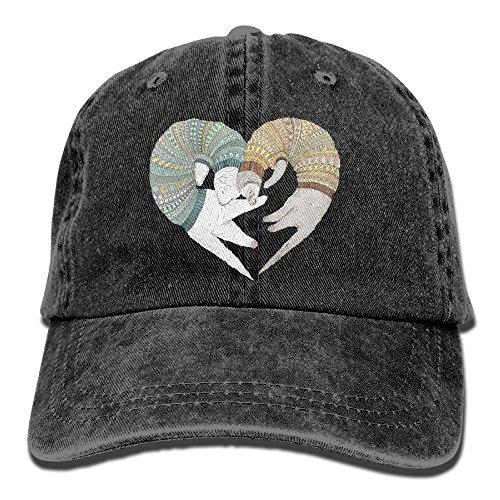 Baseball Cap Ferret Sleep - Adjustable Trucker Hat Cotton Denim, DanLive Ferret Sleep