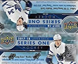 2017 2018 Upper Deck NHL Hockey Series One Factory Sealed Unopened Retail Box that contains 24 packs with 8 cards per pack for a total of 192 cards