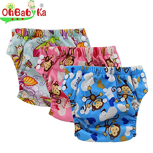 Ohbabyka Training diapers waterproof 1 3Years