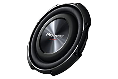 PIONEER TS-SW2502S4 10-Inch, 1200 Watts Shallow-Mount Subwoofer
