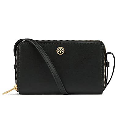 715f73e2fbe9 Amazon.com  Tory Burch 40086-001 Double Zip Parker Mini Crossbody ...