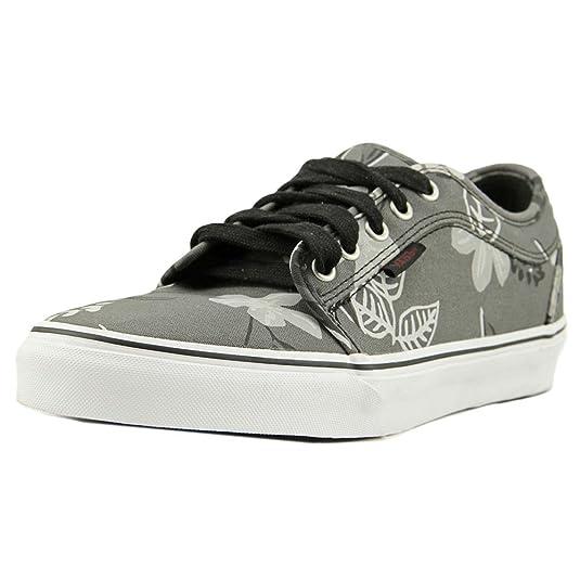 78dd0921276 Amazon.com | Vans Chukka Low Aloha Pewter Grey Black Sneakers Mens |  Fashion Sneakers